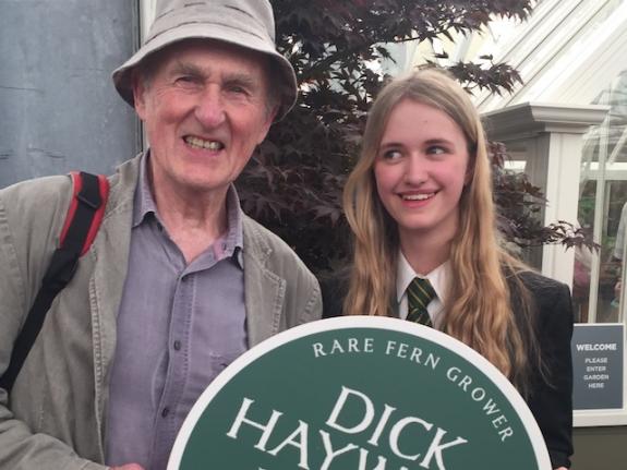 Dick Hayward & Hope SHarp